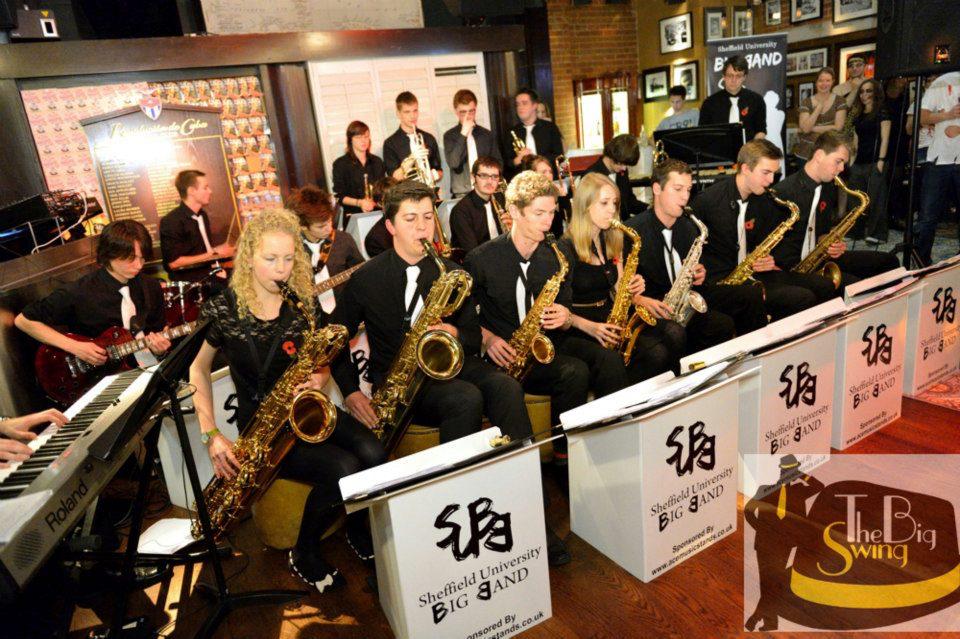 Sheffield University Big Band - Cubana Tapas Bar