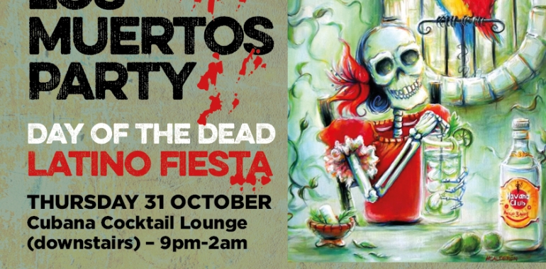 D'a de los Muertos Party (DAY OF THE DEAD) Latino Fiesta