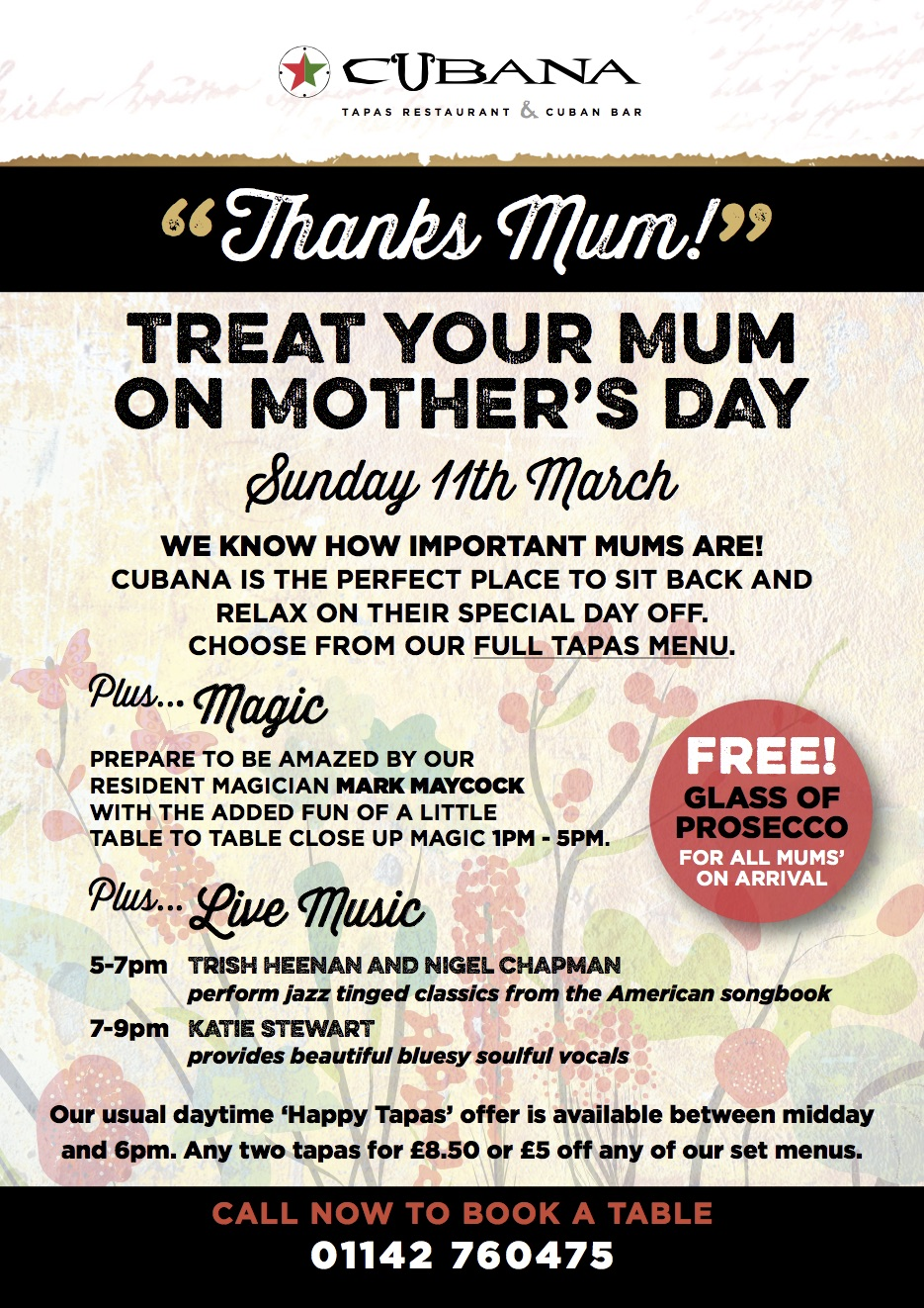 Mother's Day at Cubana
